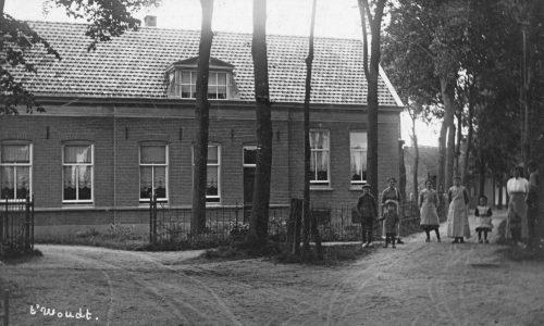 19eeeuwseboerderijoptwoudt1915