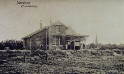 Het station van de WSM In Maasland