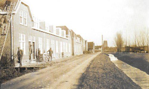 Kijckerweg met nieuwbouw 1911